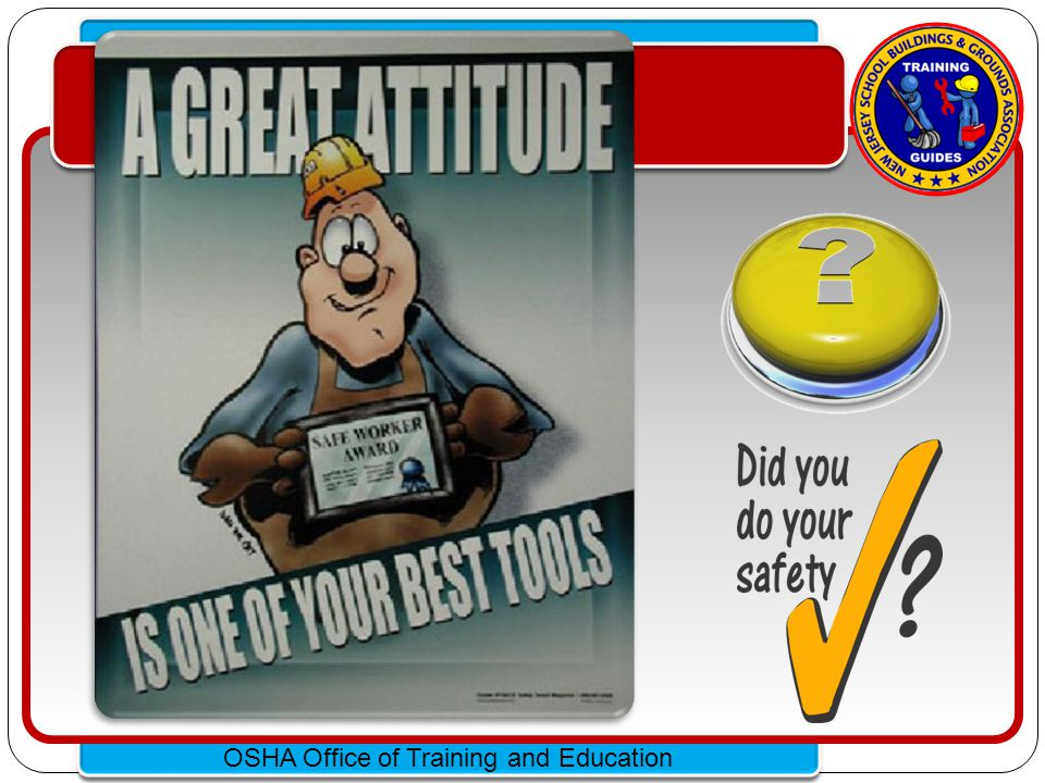 Click to edit Master text styles – Second level Third level – Fourth level » Fifth level OSHA Office of Training and Education