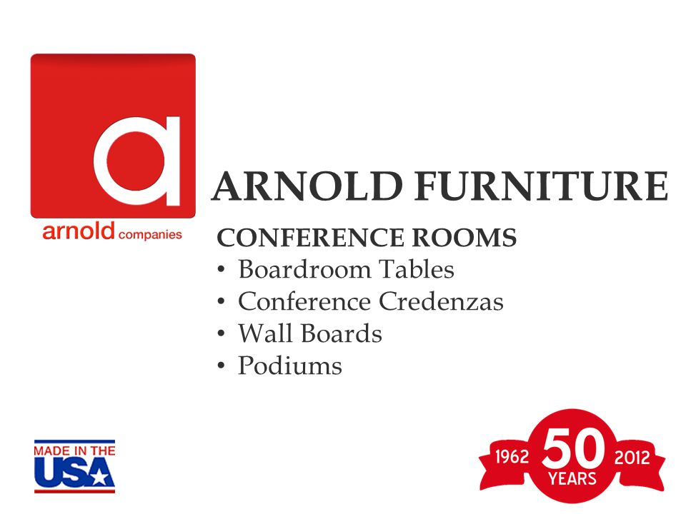 CONFERENCE WALL- UNITS ARNOLD FURNITURE