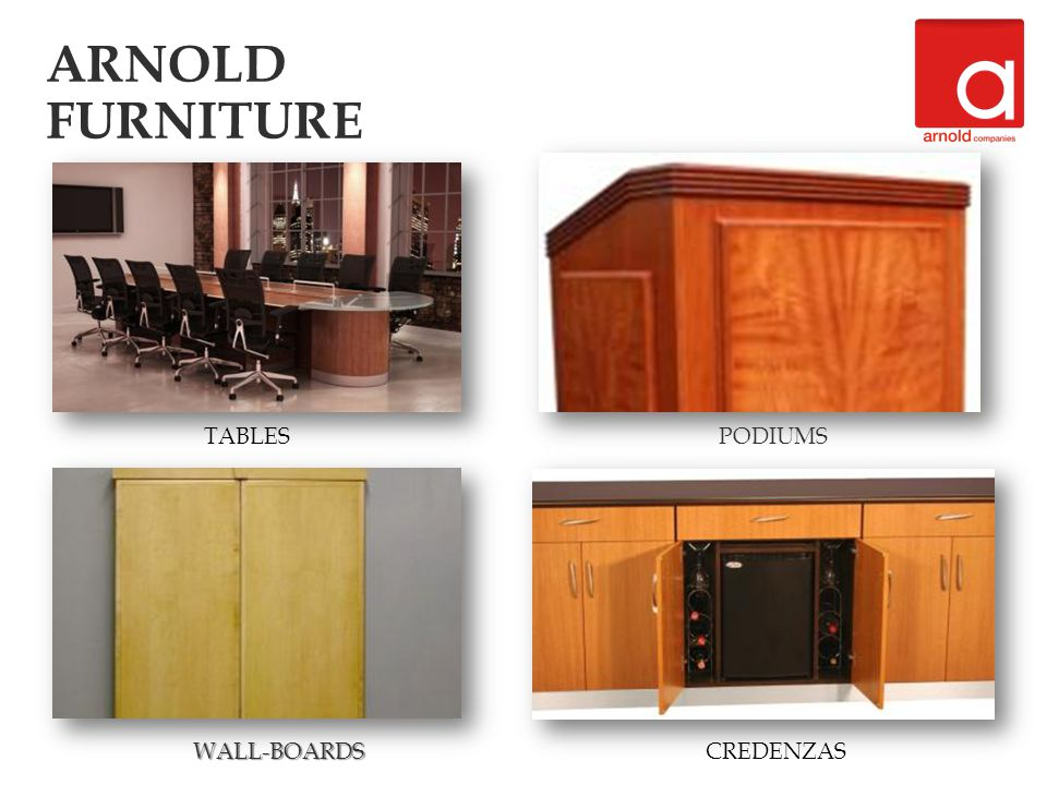 Color Renderings Provided to Facilitate Design PANORAMIC BOARDROOM TABLES ARNOLD FURNITURE