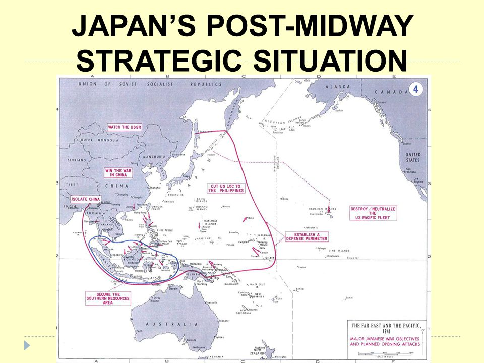JAPANS POST-MIDWAY STRATEGIC SITUATION