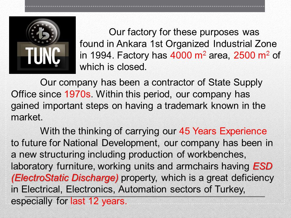 The reason of this courageous behavior is our 45 Years Experience and confidence of market to our company.