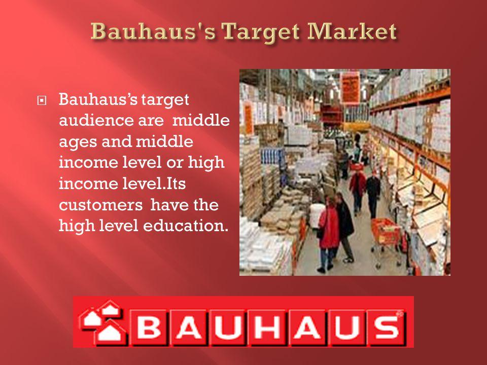 Bauhaus supplies %12 low price guarantee.Bauhaus gives 5 years guarantee to its products.