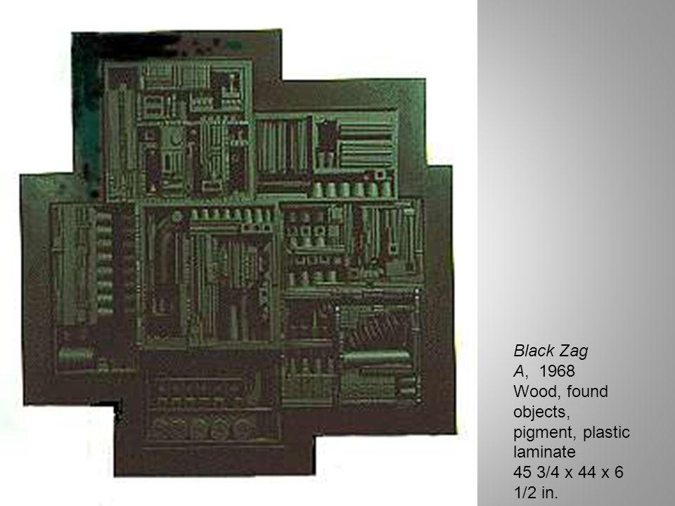 Paneles en sombra, 1961 madera y pintura, 218 x 115.5 x 11.3 adquisición Instituto Di Tella, 1973