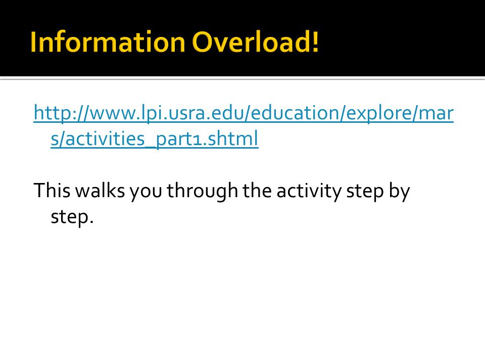 http://www.lpi.usra.edu/education/explore/mar s/activities_part1.shtml This walks you through the activity step by step.
