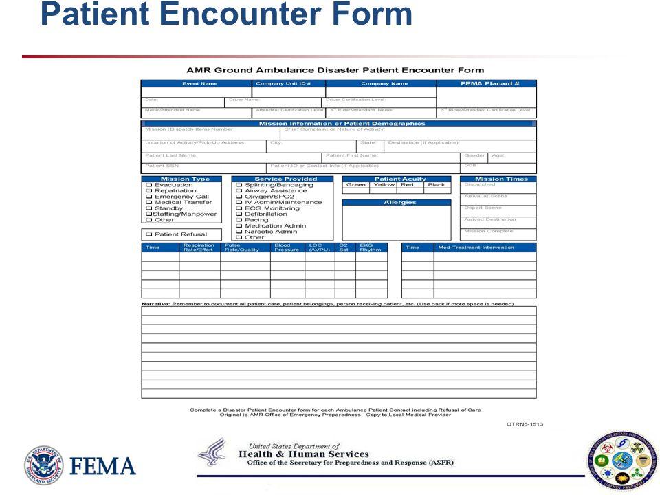 Patient Encounter Form