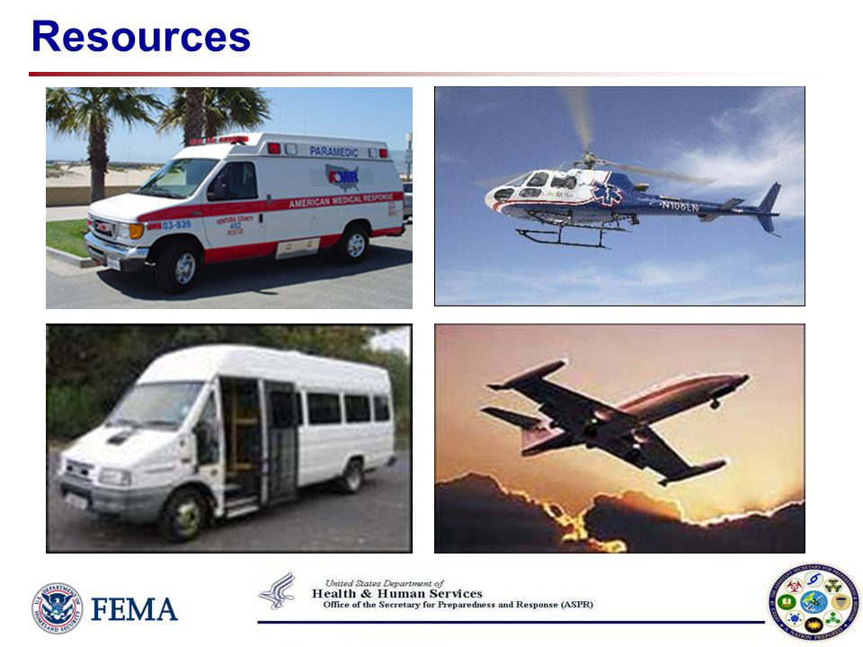 AMR/FEMA Vehicle Placard A=ALS ground ambulance B=BLS ground ambulance C=ALS bariatric grnd amb D=ALS Med-Evac bus G=Type I sedan/minivan H=Type II minibus J=Type III coach transit bus K=Type IV wheelchair van L=Type V ADA minibus M=Type VI ADA coach bus X=Support vehicle