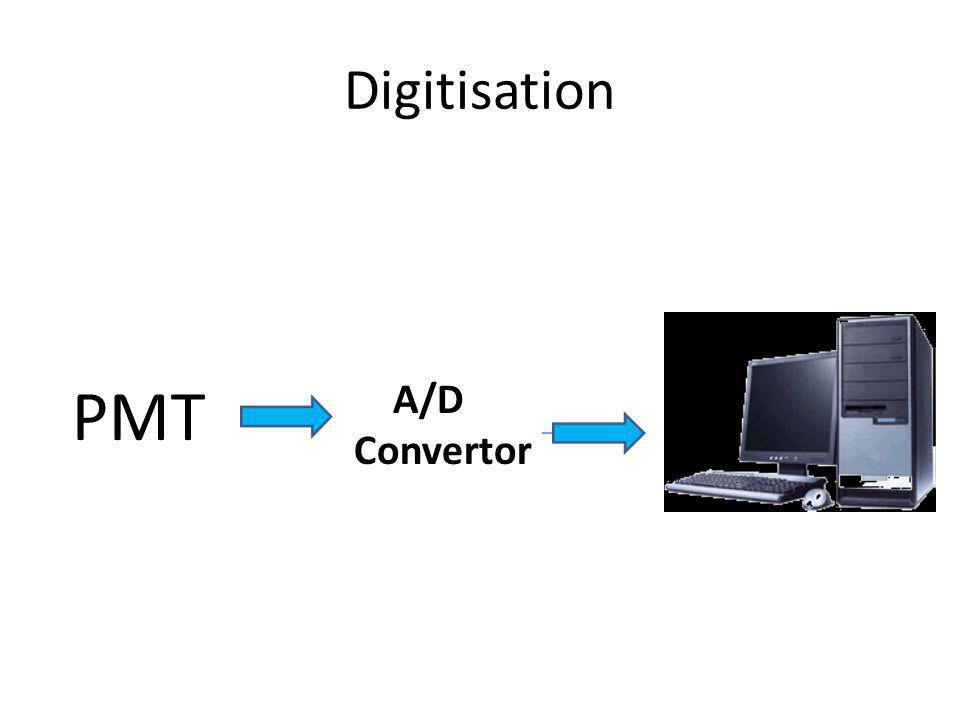 Digitisation A/D Convertor PMT