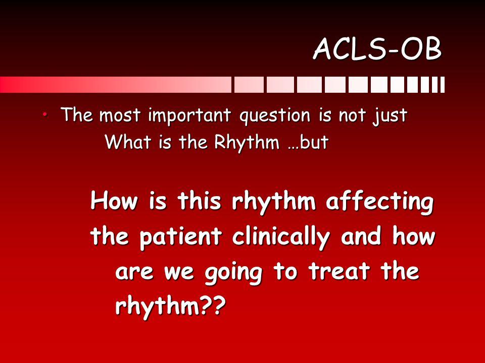 Treatable Rhythms 1.Lethal (pulseless) rhythms ShockableShockable NonshockableNonshockable 2.