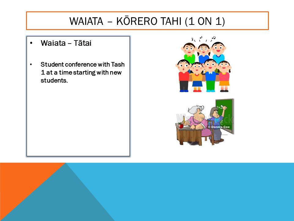 KAI TIME 12.30 – 1.00PM