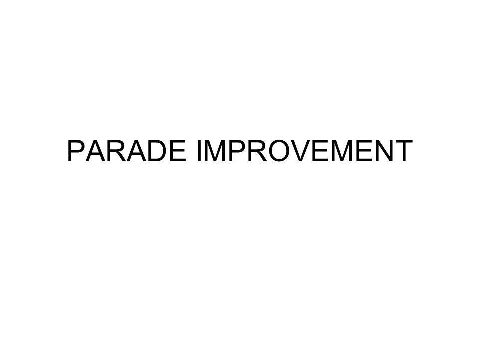 PARADE IMPROVEMENT