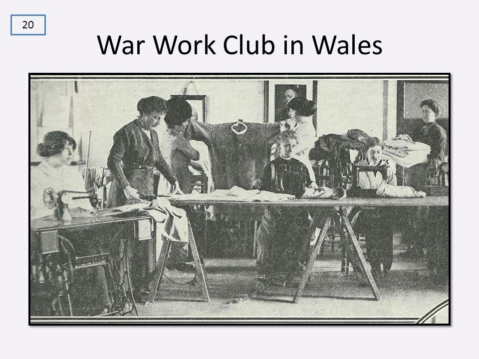 War Work Club in Wales 20