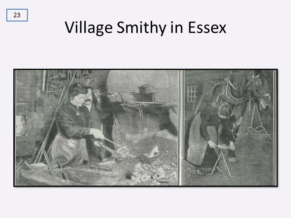 Village Smithy in Essex 23