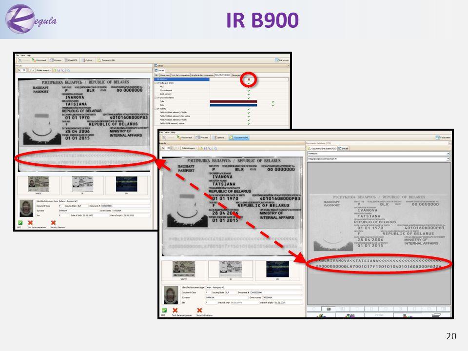 IR B900 20