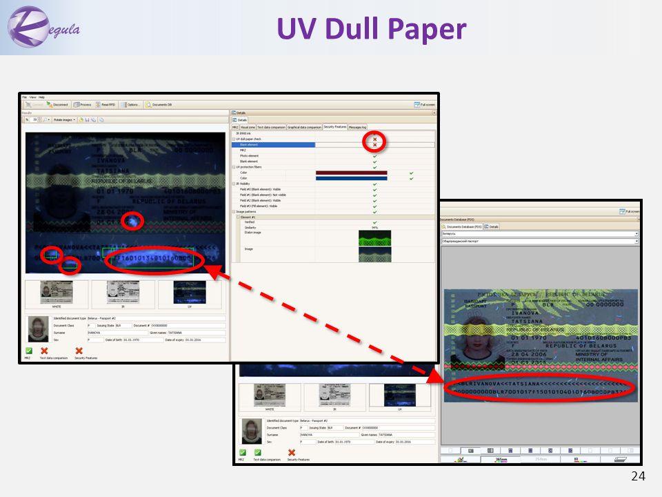 UV Dull Paper 24