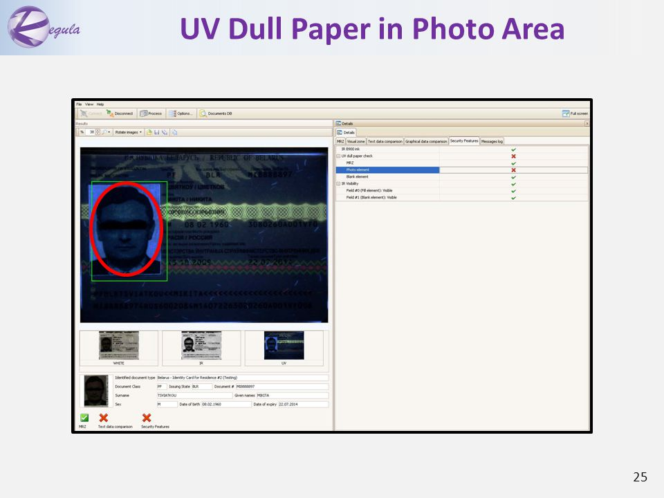 UV Dull Paper in Photo Area 25