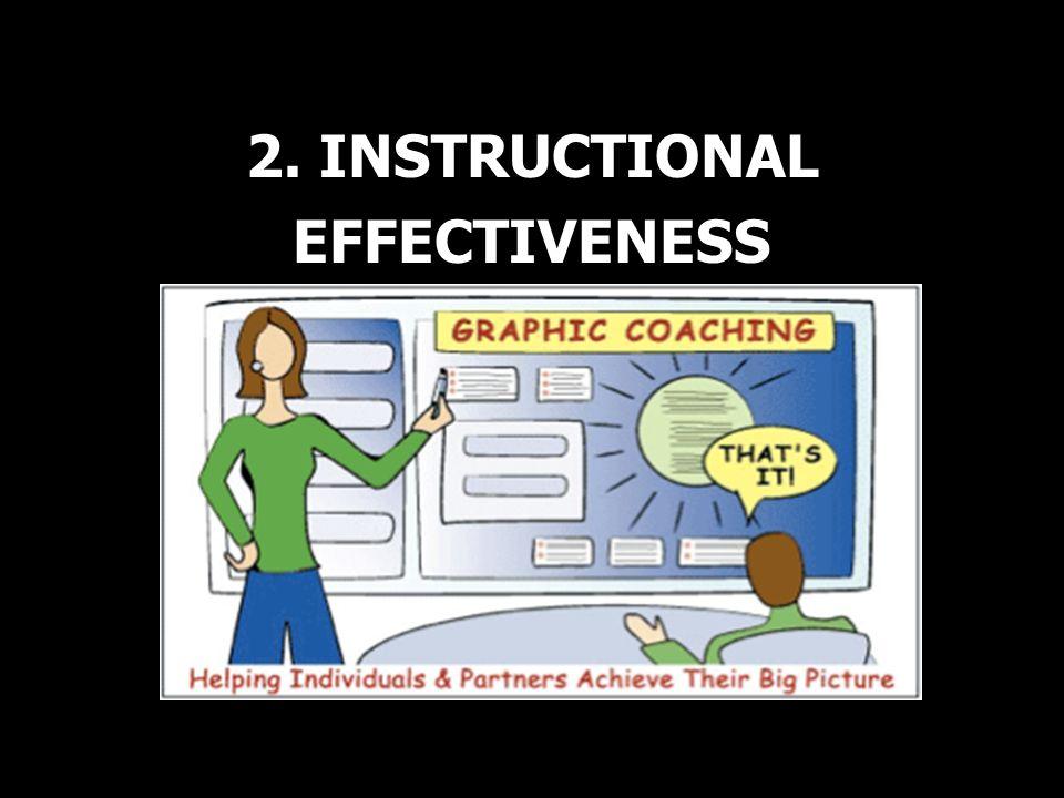 2. INSTRUCTIONAL EFFECTIVENESS