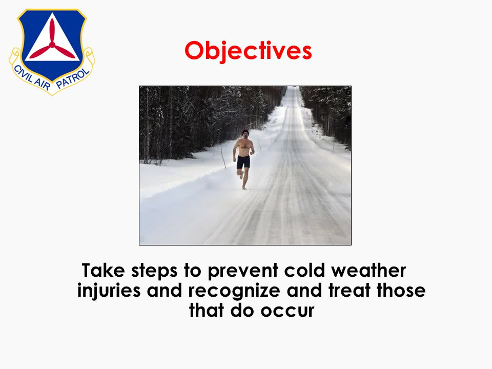 Cover all extremities by using gloves, wool socks, and a knits hat or hood over your ears Use the layer principle -- Several loose layers of clothing keep a person warmer than one bulky item of clothing.