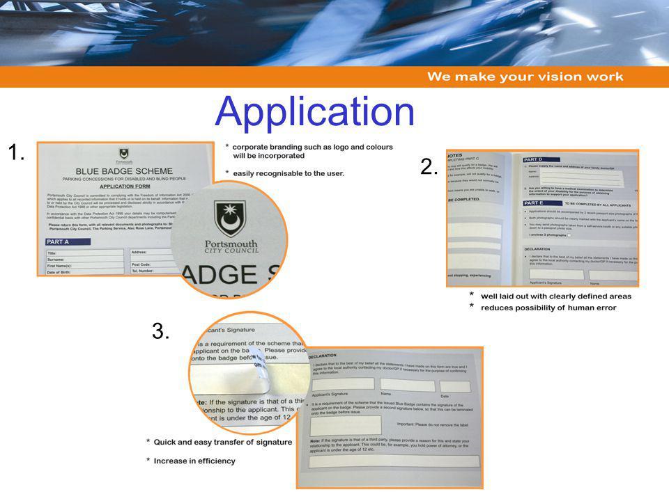 Application 2. 3. 1.