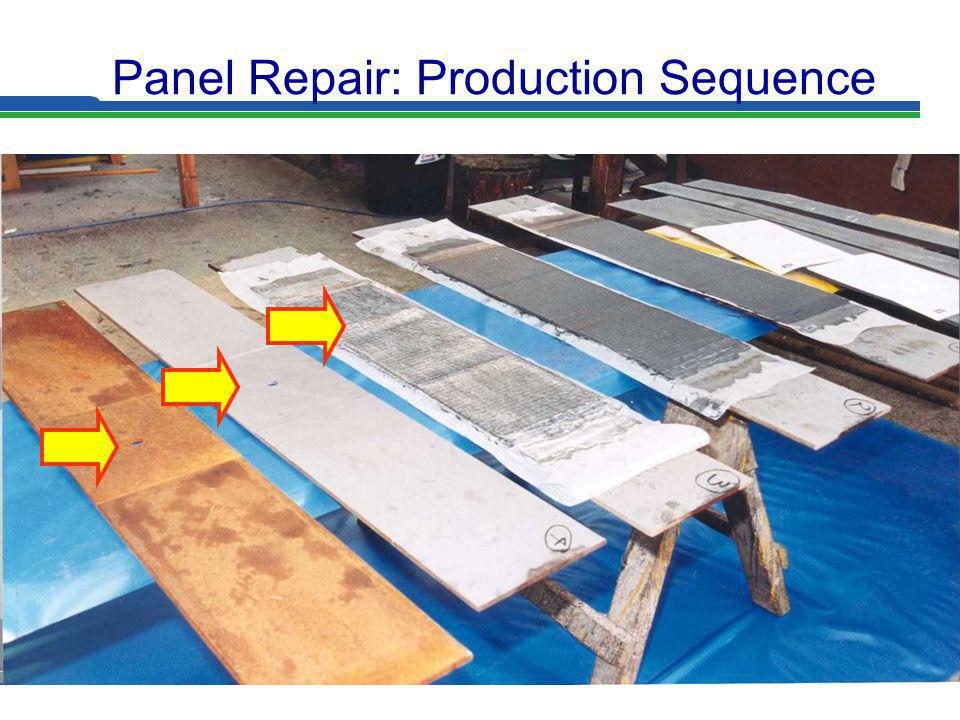 Slide 25 Panel Repair: Production Sequence