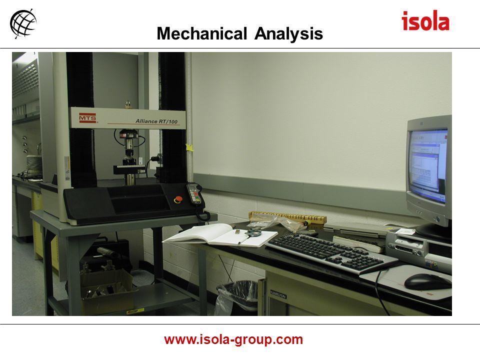 www.isola-group.com Mechanical Analysis
