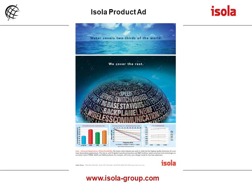 www.isola-group.com Isola Product Ad