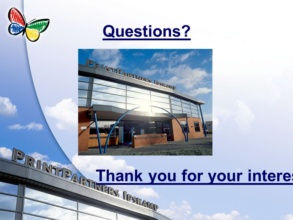 Questions? Thank you for your interest!