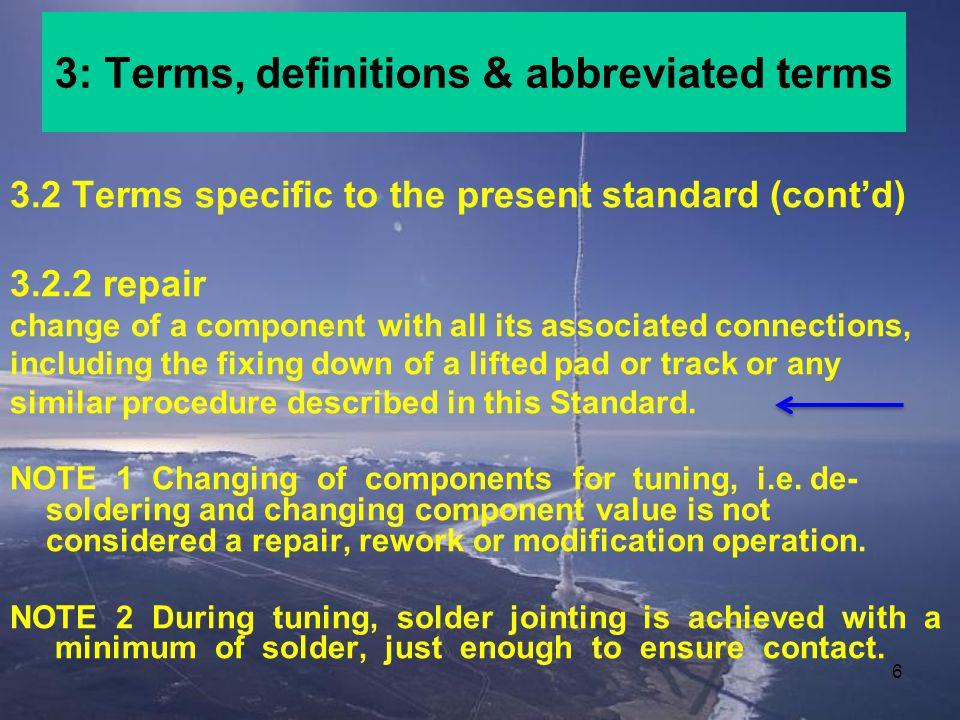46 4.9: Repair of damaged conductor tracks D.3 Method for the repair of damaged conductor tracks a.