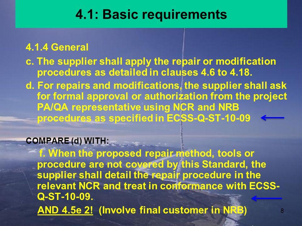 48 4.10: Repair of lifted conductors