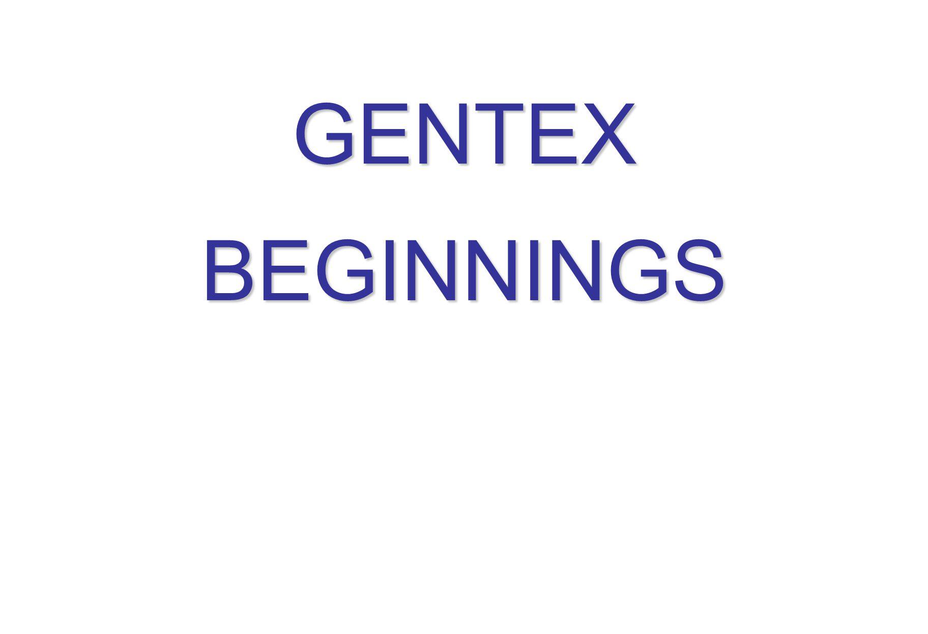 GENTEXBEGINNINGS