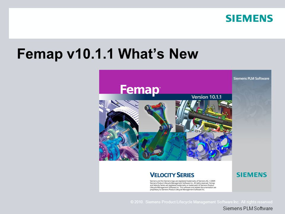 Page 2 © 2010.Siemens Product Lifecycle Management Software Inc.