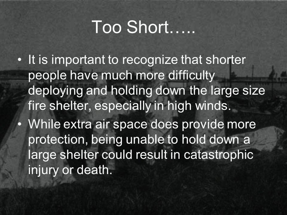 Too Short…..