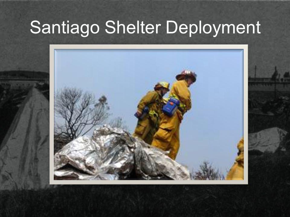 Santiago Shelter Deployment