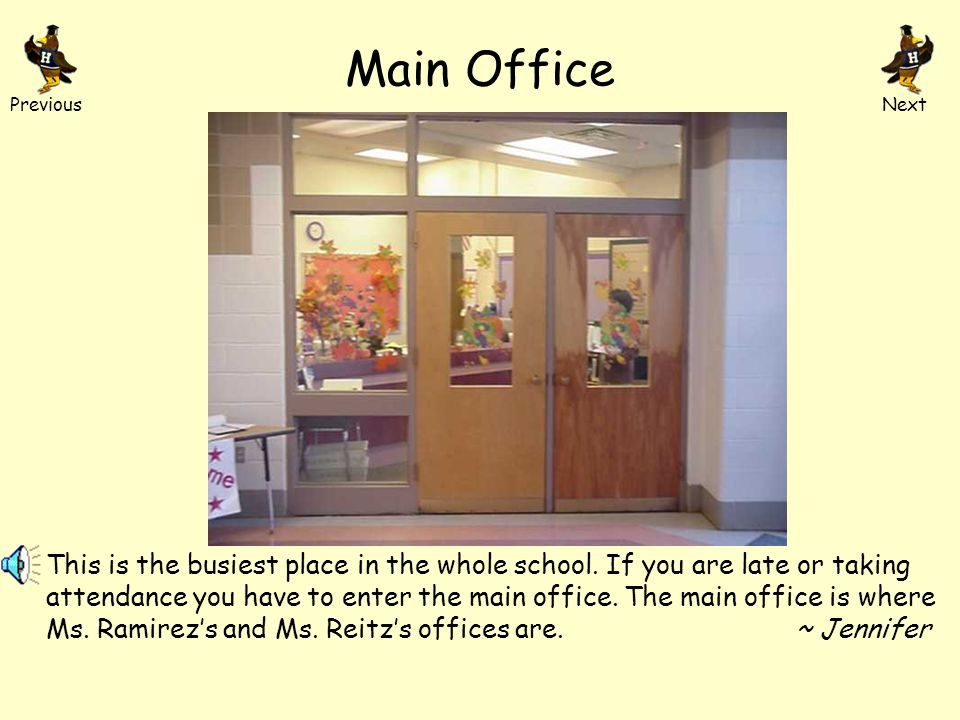 Our School Over 800 students walk into these doors each day.