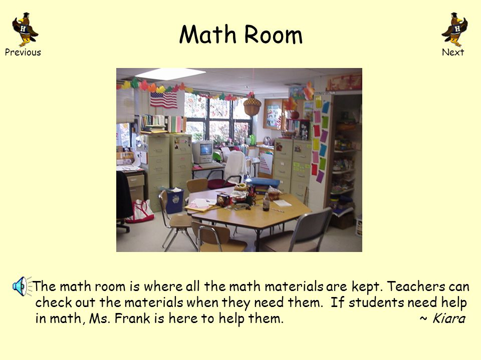 Parent Resource Room This is the parent resource room where Ms. Tyler and Ms. Donohue help Highland parents. Parents come here if they want to volunte