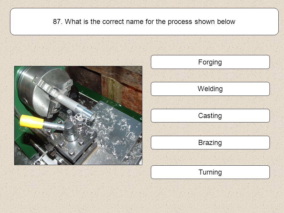 86. The Handle of this box will be turned on a lathe. What length of a piece of wood is required? Handle Click on the correct answer from the choices