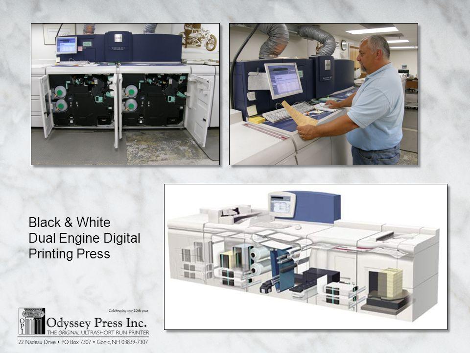Black & White Dual Engine Digital Printing Press