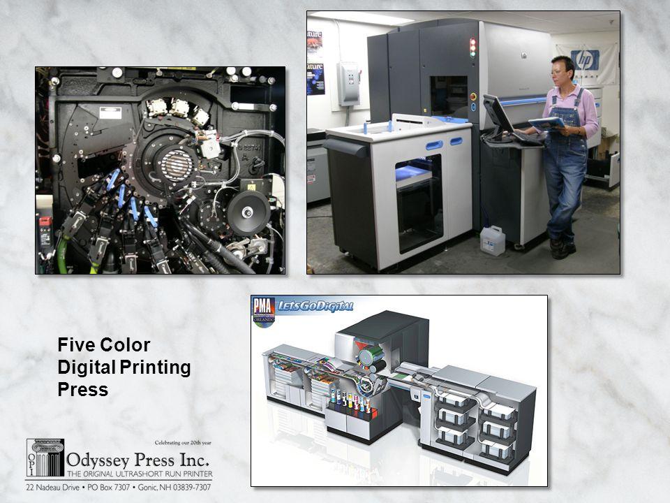 Five Color Digital Printing Press