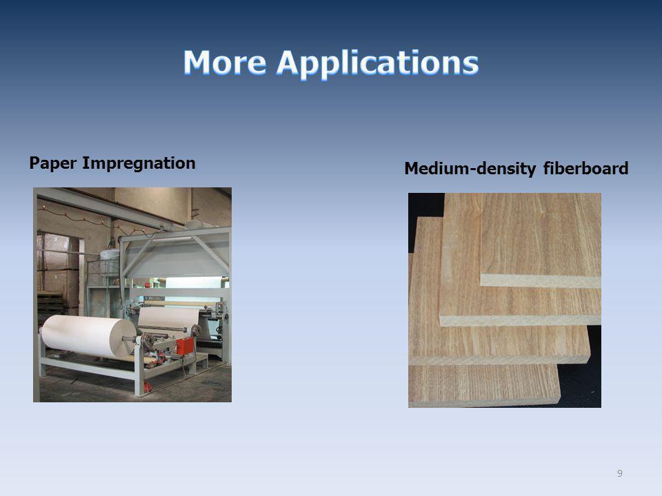9 Medium-density fiberboard Paper Impregnation