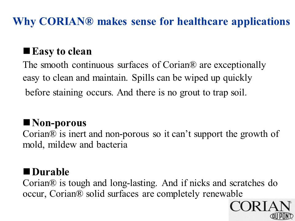 Total Corian® Value