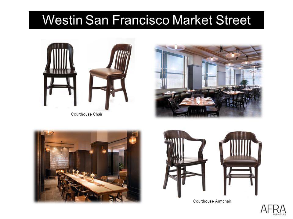Westin San Francisco Market Street Courthouse Armchair Courthouse Chair