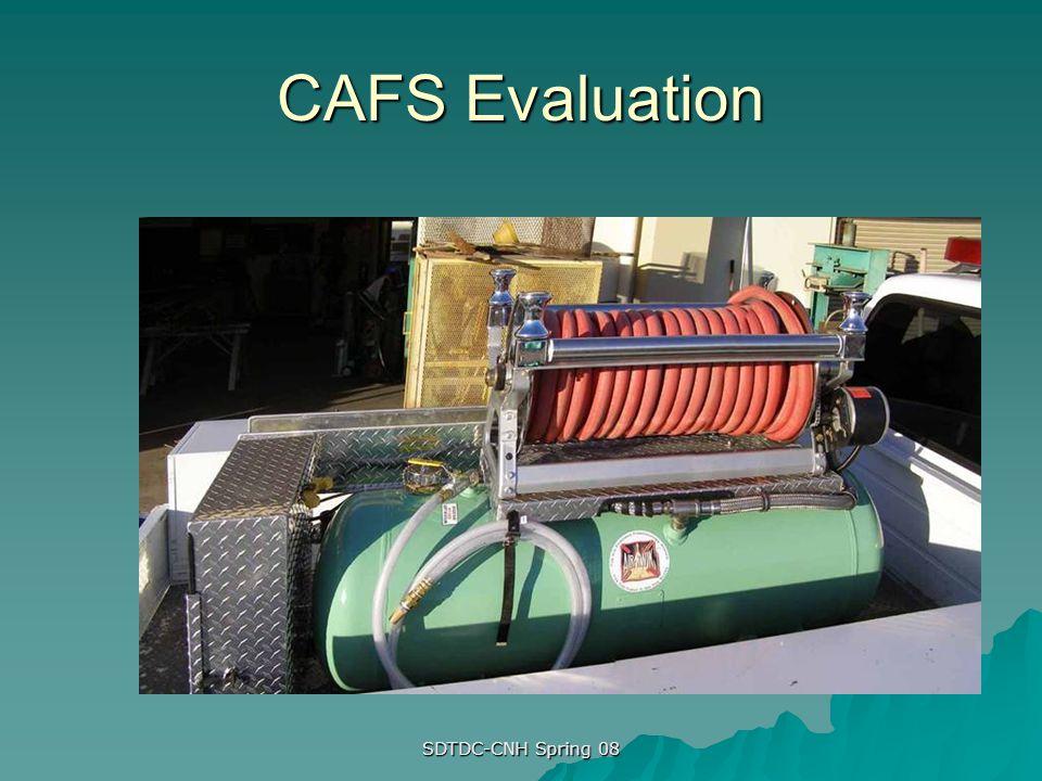SDTDC-CNH Spring 08 CAFS Evaluation