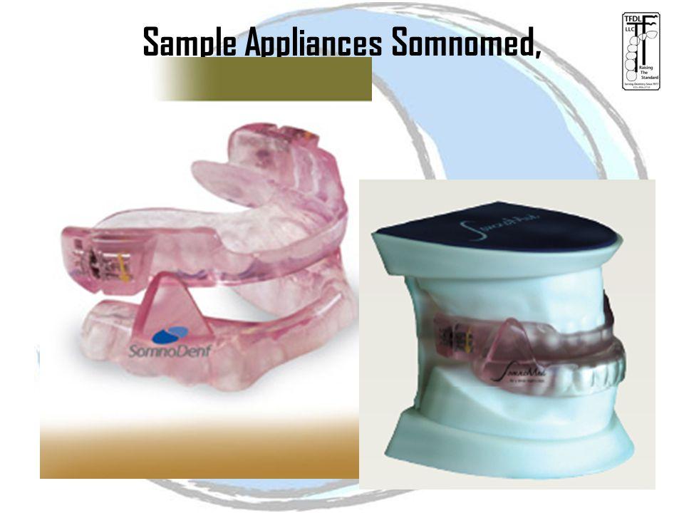 Sample Appliances Somnomed,