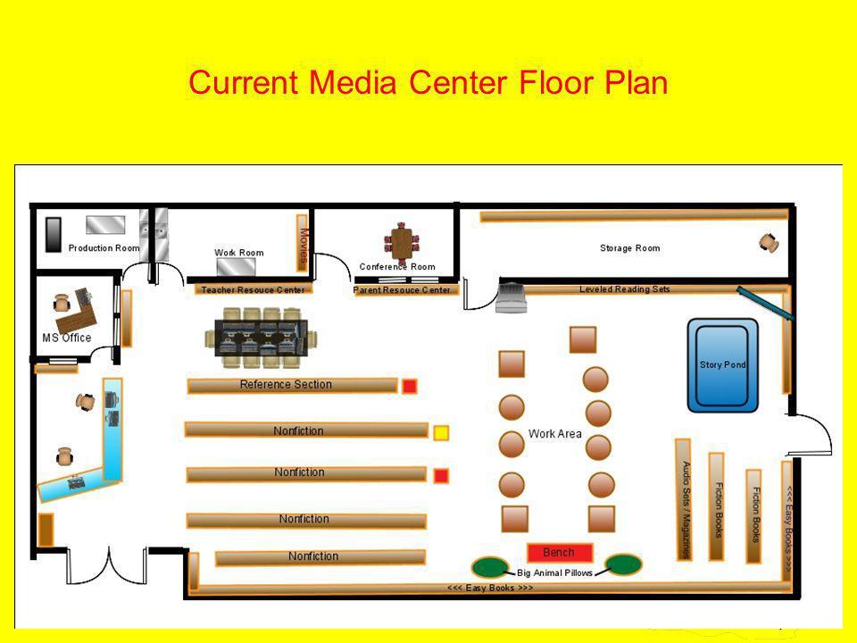 13 Current Media Center Floor Plan
