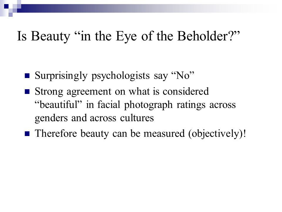 Is Beauty in the Eye of the Employer.