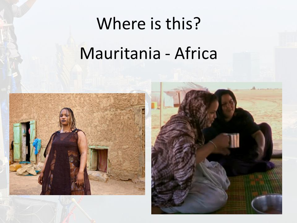 Where is this Mauritania - Africa