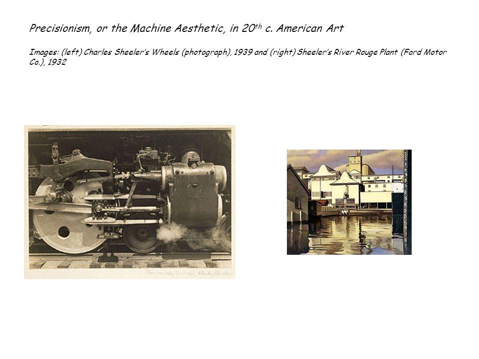 Machine Aesthetic in America II Images: Charles Sheelers Steam Turbine, 1936 and Charles Demuths My Egypt, 1932