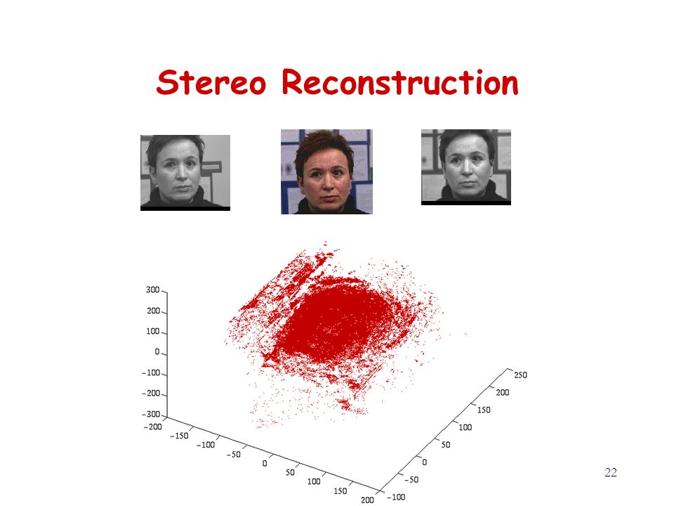 22 Stereo Reconstruction