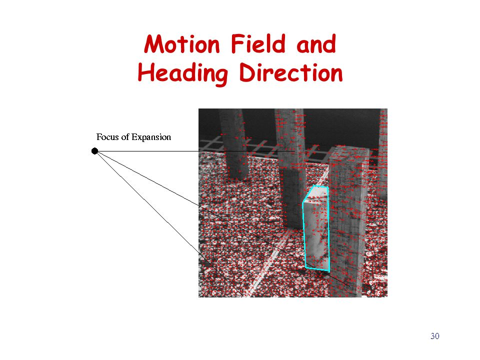 30 Motion Field and Heading Direction