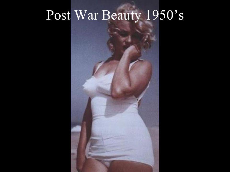 Post War Beauty 1950s
