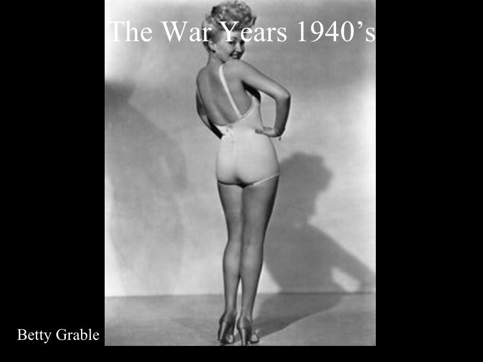 The War Years 1940s Betty Grable